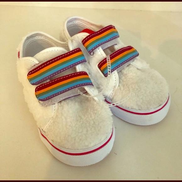 Vans Shoes | Toddler Rainbow Vans